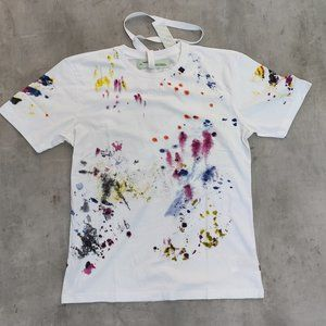 Off-White Multicolor White T-Shirt